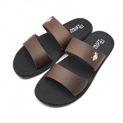 Kaakeekuu 52 Fifty-Two Men Sandal Shoes l Drag Two-word Shoes [Ready Stock]